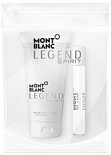 Духи, Парфюмерия, косметика Montblanc Legend Spirit - Набор (mini/7.5 ml + ash/balm/50 ml