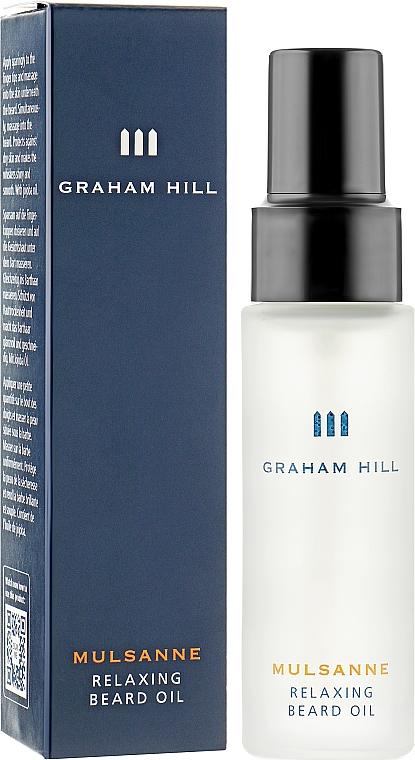 Масло питательное для бороды - Graham Hill Mulsanne Relaxing Beard Oil