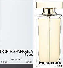 Dolce&Gabbana The One - Туалетна вода (тестер з кришечкою) — фото N2