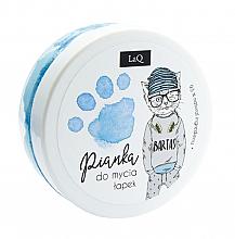 Духи, Парфюмерия, косметика Очищающая пенка для тела, рук и волос, синяя - LaQ Cleansing Foam