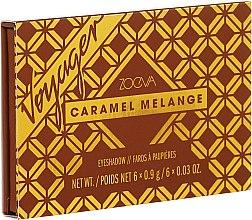Духи, Парфюмерия, косметика Палетка теней для век - Zoeva Caramel Melange Voyager