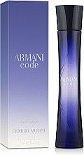 Духи, Парфюмерия, косметика Giorgio Armani Code Women - Парфюмированная вода