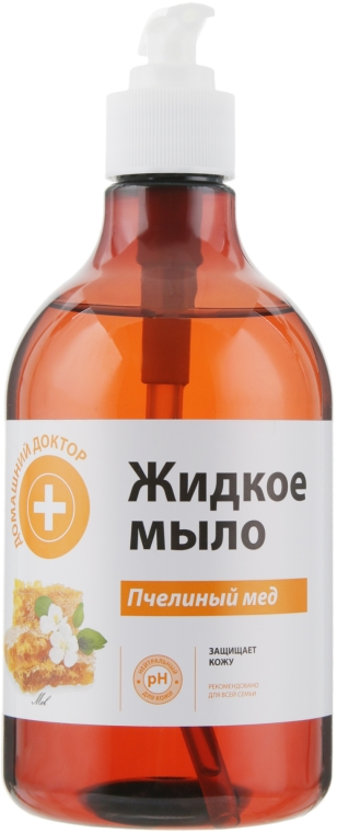 """Жидкое мыло """"Пчелиный мед"""" - Домашний Доктор"""