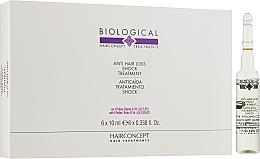 Духи, Парфюмерия, косметика Интенсивная терапия против выпадения волос - HairConcept Biological Anti-Hair Loss Shock Treatment