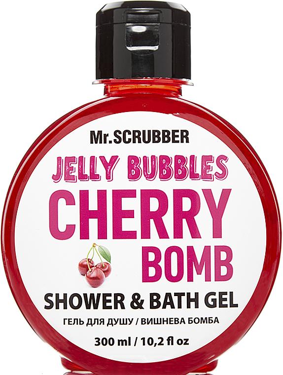 "Гель для душа ""Cherry Bomb"" - Mr.Scrubber Jelly Bubbles Shower & Bath Gel"