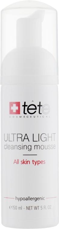 Мусс для умывания - TETe Cosmeceutical Ultra Light Cleansing Mousse