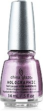 Лак для ногтей - China Glaze Nail Lacquer With Hardeners — фото N3