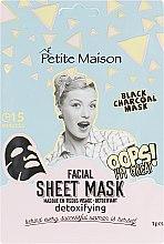 Духи, Парфюмерия, косметика Детоксицирующая маска-патч для лица - Petite Maison