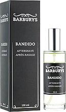 Духи, Парфюмерия, косметика Лосьон после бритья - Barburys Bandido Aftershave