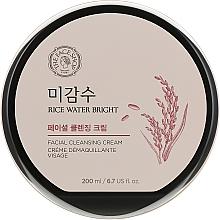 Парфумерія, косметика Очищувальний крем з рисовою водою - The Face Shop Rice Water Bright Cleansing Cream
