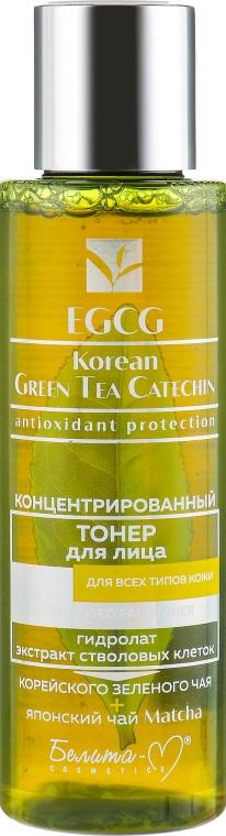 Тонер для лица - Белита-М EGCG Korean Green Tea Catechin — фото N1