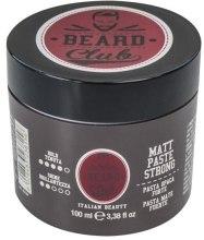 Духи, Парфюмерия, косметика Матовая паста для волос сильной фиксации - Beard Club Matt Paste Strong