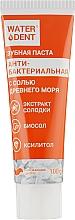 Духи, Парфюмерия, косметика Антибактерильная зубная паста с солью Древнего моря - Waterdent