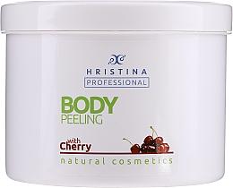"Духи, Парфюмерия, косметика Скраб для тела ""Вишня"" - Hristina Professional Cherry Body Peeling"