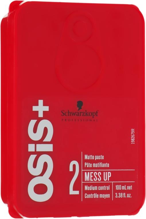 Воск для волос с матовым эффектом - Schwarzkopf Professional Osis+ Mess Up Matt Gum