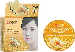 Духи, Парфюмерия, косметика Гидрогелевые патчи для глаз с коллагеном и частицами золота - SNP Gold Collagen Eye Patch