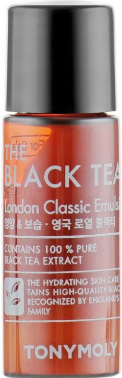 Антивозрастная эмульсия с экстрактом чёрного чая - Tony Moly The Black Tea London Classic Emulsion (пробник)