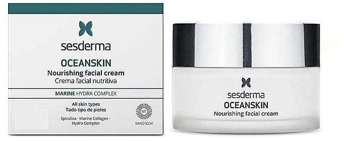 Питательный крем для лица - Sesderma Laboratories Oceanskin Nourishing Facial Cream