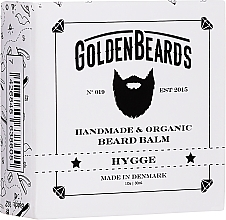 "Духи, Парфюмерия, косметика Бальзам для бороды ""Hygge"" - Golden Beards Beard Balm"