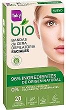 Духи, Парфюмерия, косметика Восковые полоски для депиляции лица - Taky Bio Natural 0% Face Wax Strips