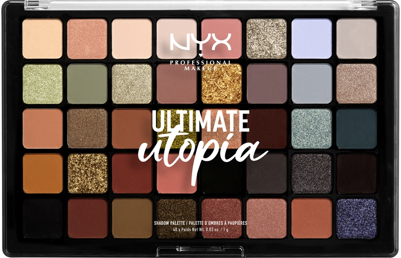 Палетка теней - NYX Professional Makeup Ultimate Utopia Shadow Palette Summer 2020