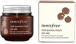 Духи, Парфюмерия, косметика Подтягивающая маска с экстрактом киноа - Innisfree Real Quinoa Mask
