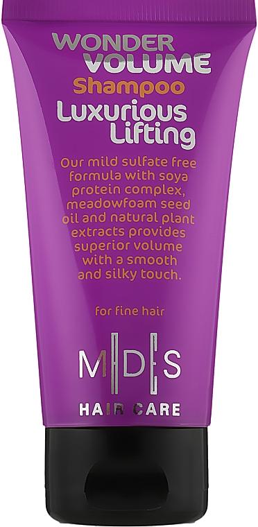 Шампунь «Лифтинг волос. Чудо-объем» - Mades Cosmetics Wonder Volume Luxurious Lifting Shampoo