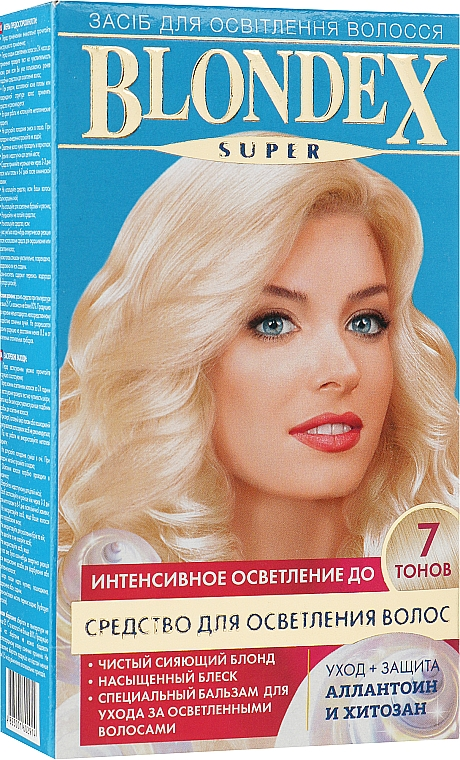 Средство для осветления волос - Supermash Blondex Super