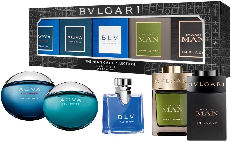Набор - Bvlgari The Men'S Gift Collection (edp/2x5ml + edt/3x5ml) — фото N1