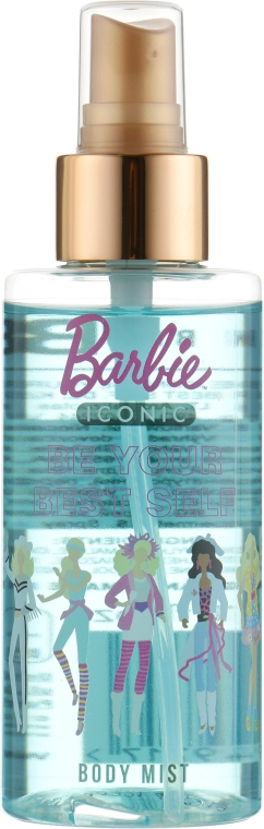 "Спрей для тела детский ""Be Your Best Self"" - Bi-Es Barbie Iconic Body Mist"