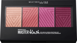 Духи, Парфюмерия, косметика Палетка румян - Maybelline Rouge Palette Master Blush Palette