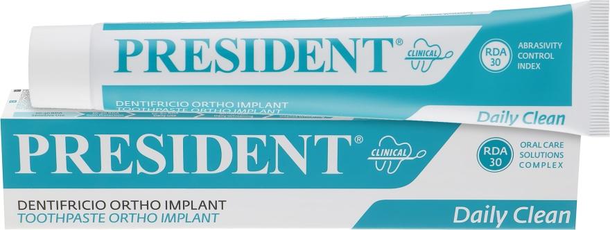 """Зубная паста """"Clinical Ortho Implant"""" - PresiDENT"""