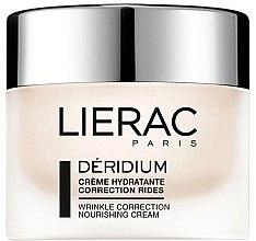Духи, Парфюмерия, косметика Крем для лица для нормальной и комбинированной кожи - Lierac Paris Deridium Wrinkle Correction Nourishing Cream
