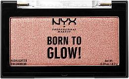 Духи, Парфюмерия, косметика Хайлайтер для лица - NYX Professional Makeup Born To Glow Highlighter