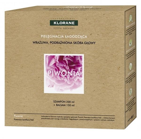 Набор - Klorane Peony (shm/200ml + cond/150ml)