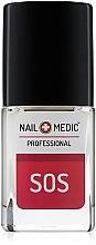 Духи, Парфюмерия, косметика SOS-сыворотка против расслоившихся, ломких, тонких, мягких ногтей - Ines Cosmetics Nail Medic+ Professional