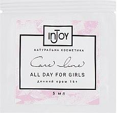 Духи, Парфюмерия, косметика Дневной крем для молодой кожи 16+ - InJoy Care Line All Night for Girls (пробник)