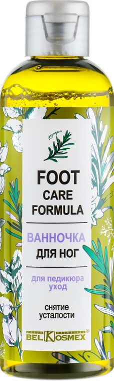 Ванночка для ног для педикюра - Belkosmex Foot Care Formula