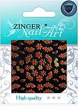 Духи, Парфюмерия, косметика Наклейки для дизайна ногтей, fda-185 - Zinger Nail Art Sticker