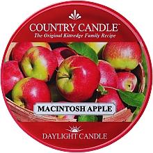 "Духи, Парфюмерия, косметика Чайная свеча ""Яблоки Макинтош"" - Country Candle Macintosh Apple Daylight"