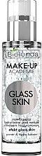 Духи, Парфюмерия, косметика Увлажняющая гидрооснова для макияжа с гиалуроновой кислотой - Bielenda Make-Up Academie Glass Skin