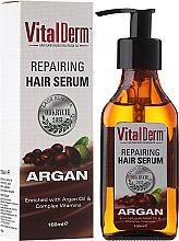 Духи, Парфюмерия, косметика Восстанавливающая сыворотка для волос - VitalDerm Argana Restoring Hair Serum