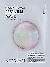 Духи, Парфюмерия, косметика Антивозрастная маска с белой икрой - Neogen Neogen Crystal Caviar Essential Mask