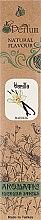 Парфумерія, косметика Аромапалички із заспокійливим ароматом ванілі - MSPerfum