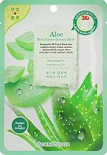 Духи, Парфюмерия, косметика Маска-салфетка для лица с алоэ - Beauugreen Contour 3d Aloe Essence Mask