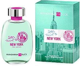 Духи, Парфюмерия, косметика Mandarina Duck Let's Travel To New York For Woman - Туалетная вода
