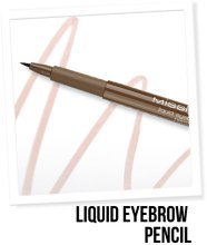 Подводка для бровей - Misslyn Liquid Eyebrow Pencil — фото N2