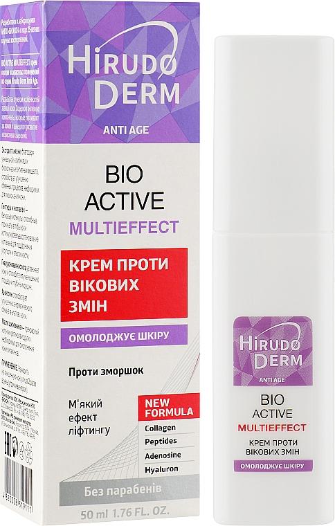 Крем против возрастных изменений - Hirudo Derm Bio Active Multieffect