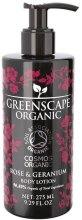 """Духи, Парфюмерия, косметика Лосьон для тела """"Роза и герань"""" - Greenscape Organic Body Lotion Rose & Geranium"""