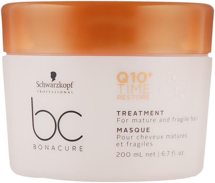 Маска для волос Q10 - Schwarzkopf Professional ВС Bonacure Time Restore Q10 Plus Treatment